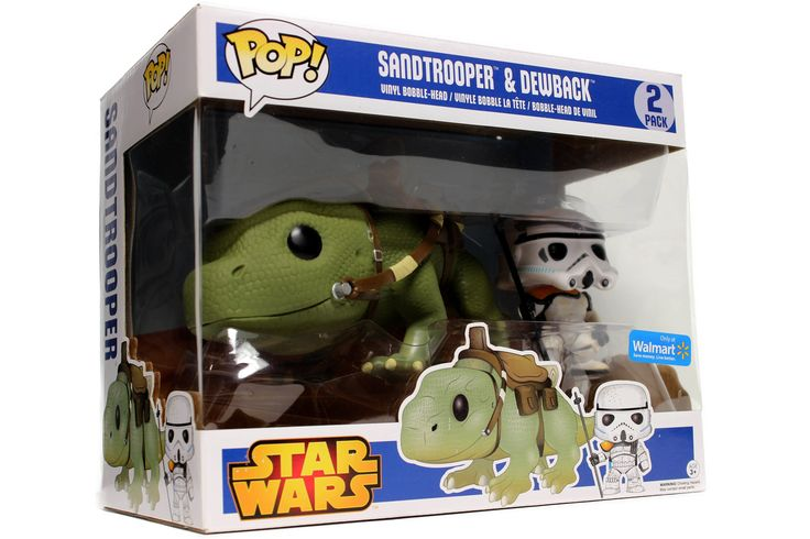 POP! Star Wars: Sandtrooper & Dewback