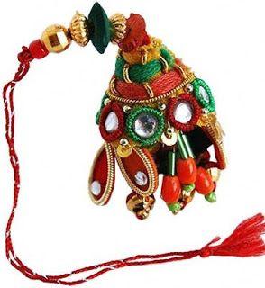 Send #LumbaRakhi to India for your Bhabhi via http://rakhi.giftalove.com/lumba-rakhi-743.html