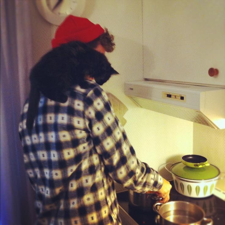 Me & kittyCat