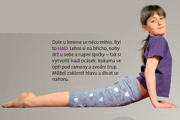 Cvičení s pohádkou - Jóga pro děti