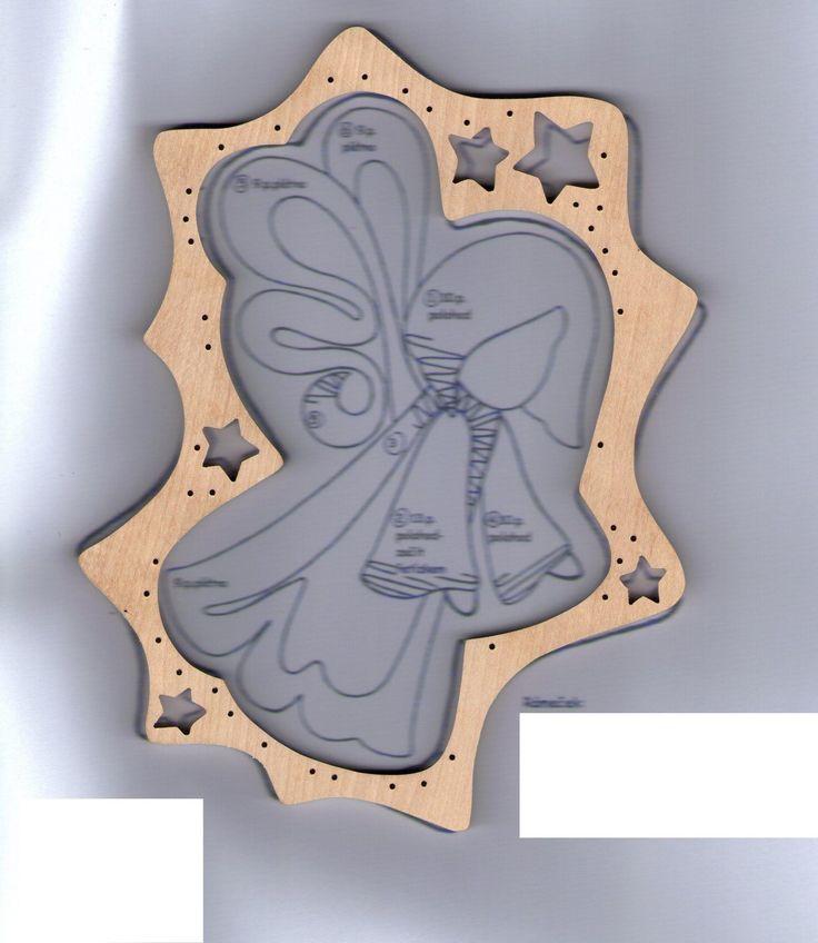 Anděl+podvinek, - paličkovaná krajka, bobbin lace, autor: Lenka Maslova Spetlova, Hostinné, Atelier ROS ZEFYRA s.r.o.