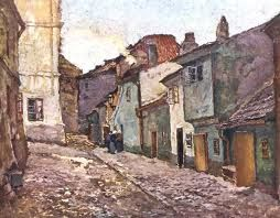Zlata ulicka,1906,SLAVICEK Antonín, 1870-1910