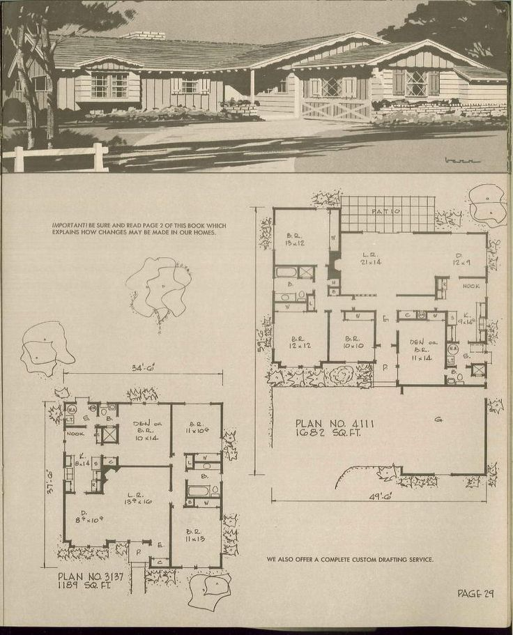 221 best ranch house images on pinterest ranch for 1960s ranch house plans
