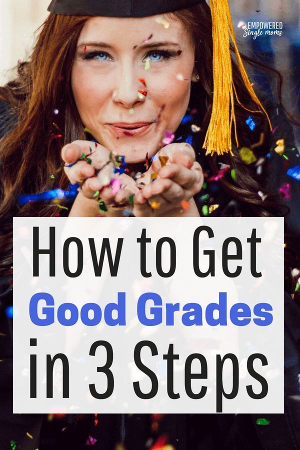 learn the easy 3 step process how to get good grades for