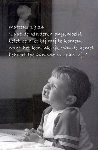 Laat de kinderen ongemoed www.relicards.nl