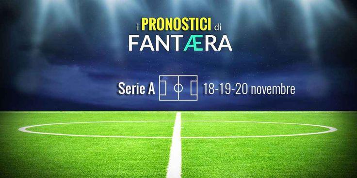 I pronostici del Fantacalcio di Fantaera.com di Serie A (18-19-20 novembre 2017) Risultato: 2-2  Marcatori: Budimir, Stoian, Taarabt, Lapadula Hellas Verona-Bologna: posticipo del lunedì sera, ad entrambe servono punti per muovere la classifica.Risultato: 0-0  Marcatori: Inter- #fantacalcio #fantaera