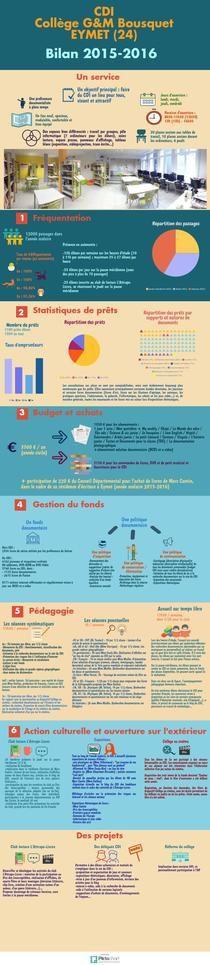 bilan CDI 2015-2016   Piktochart Infographic Editor