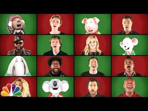 """Reese Witherspoon, Matthew McConaughey, and More Stars Sing """"Wonderful Christmastime"""" A Cappella"""