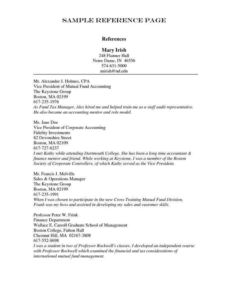 8 best Resume images on Pinterest Resume tips, Sample resume and - sample references for resume