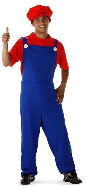 Naamiaisasu; Hyppivä Putkimies  Hyppivä Putkimies lienee tuttu hahmo kaikille 80-luvulla tasohyppelypelejä pelanneille tyypeille? Naamiaisasuun kuuluu lappuhaalarit, t-paita sekä lakki. Tarvittaessa voit hankkia asun täydennykseksi tekomahan ja viikset oheistuotevalikoimastamme.