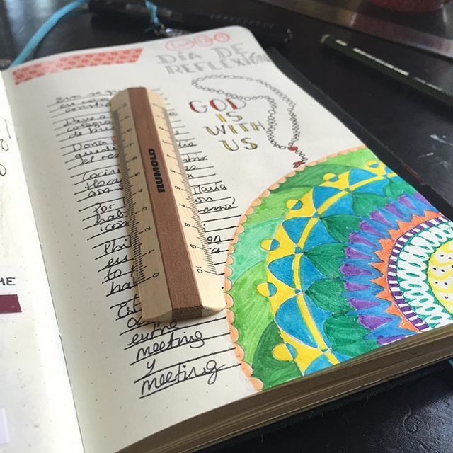 Yesterday was a quiet day, it had a meditative quality that allowed me to reflect upon many things. #goodandnecessary #meditation #writing #silence #penanadpaper #healing #love #journaling #mandala #berlin