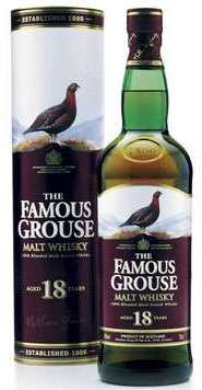 Whisky Review #8 - Famous Grouse 18 yr #scotch #whisky #whiskey #malt #singlemalt #Scotland #cigars