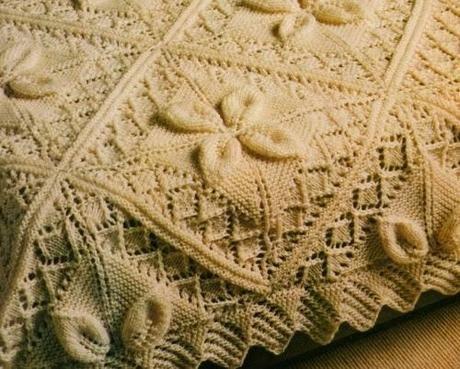 Lavori a maglia: La Coperta di lana bianca
