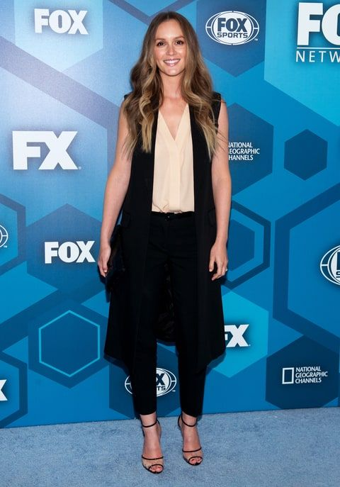 Leighton Meester has returned to the red carpet! After a year off, the Gossip Girl alum hit the FOX upfronts to promote her new comedy!