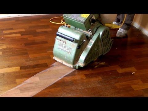 Learn How To Use A Belt Or Drum Floor Sander In Just Few