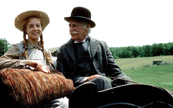 Anne and Matthew ~ from the movie Anne of Green Gables: