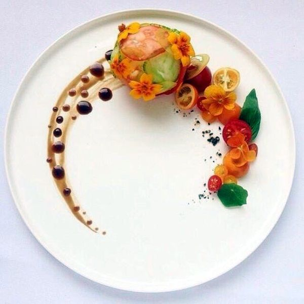 Best 25 creative food ideas on pinterest for Art of food decoration