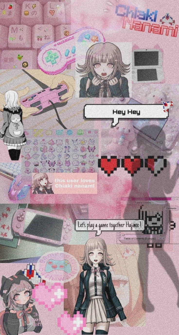Chiaki Nanami Aesthetic Anime Wallpaper Phone Anime Wallpaper Cute Patterns Wallpaper