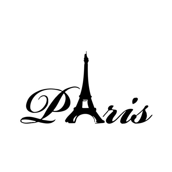 Wall decals are one of the great decorative innovations of recent years. Decals are an easy and inexpensive way to decorate your space. Bring style to your space with vinyl wall art. Theme: Paris, Fra