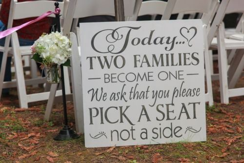 Country Chic Wedding Decorations Wood Signs | eBay