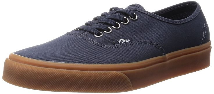 Vans Unisex Authentic (Gumsole) India Ink Skate Shoe -- Click image to review more details. (This is an affiliate link and I receive a commission for the sales)