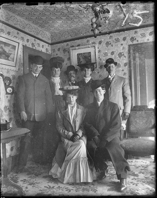 Found Photo - Circa 1900 Wonder who were they and where were they all going...love starring at old photos!