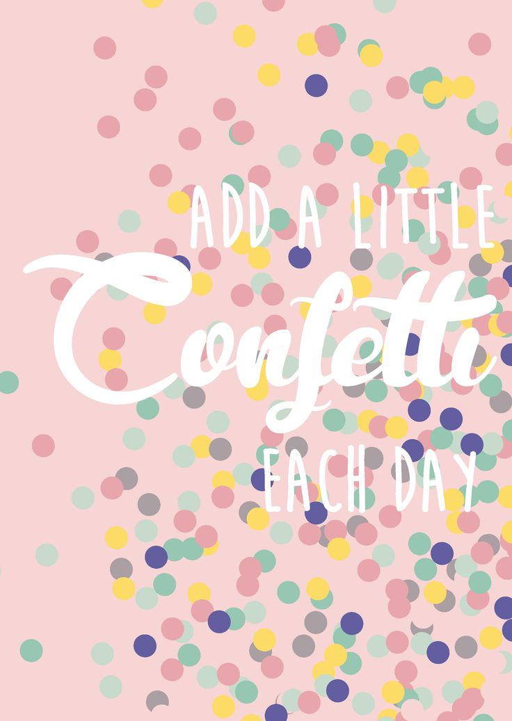 Postkaart Add a little confetti each day Postkaart Add a little confetti each day is geschikt voor elke gelegenheid en iedereen.  [ssba]...