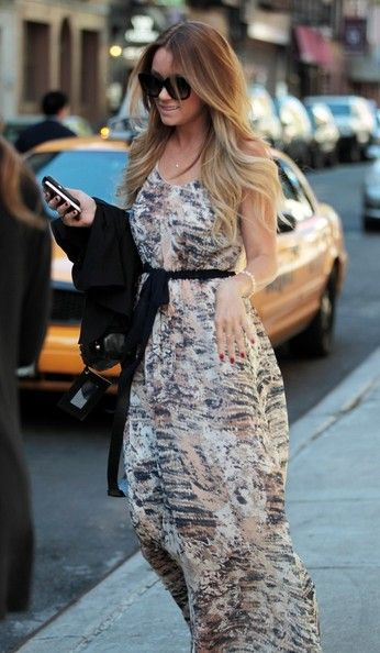 Love this whole look... including the blonde ombre!