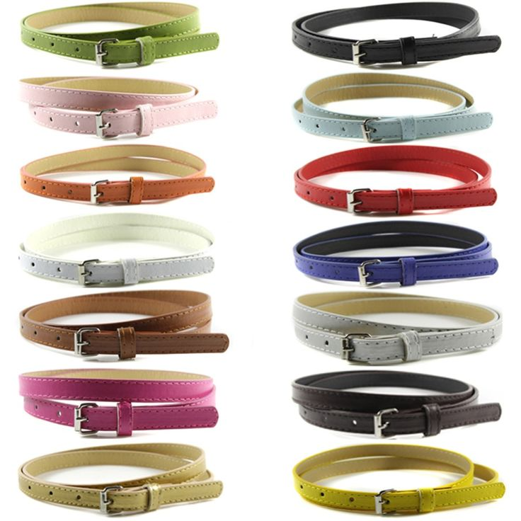 C$ 1.05 - 1.14  Cheap belt strap, Buy Quality women waistband directly from China casual belt Suppliers:    100%Brand New and High Quality!!    1.Fashion Skinny Thin Waistband Belt    2.Size:Length:100cm/39.37in,width:1.4cm/0