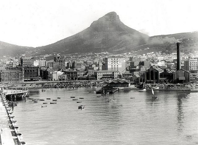 History Photo-Roggebaai, Table Bay, Cape Town- only an hour from Franschhoek home of La Clé des Montagnes
