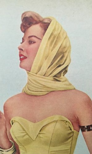 Classic Scarves- Kinds from 1920s to 1960s