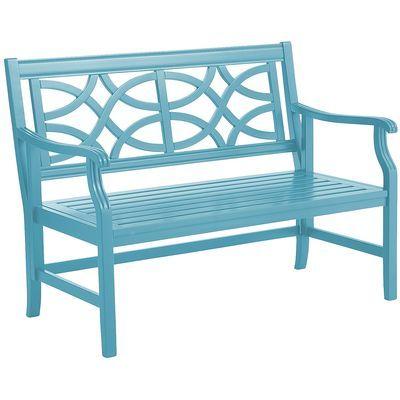 rock point bench peacock blue pier 1 x 25 d x. Black Bedroom Furniture Sets. Home Design Ideas
