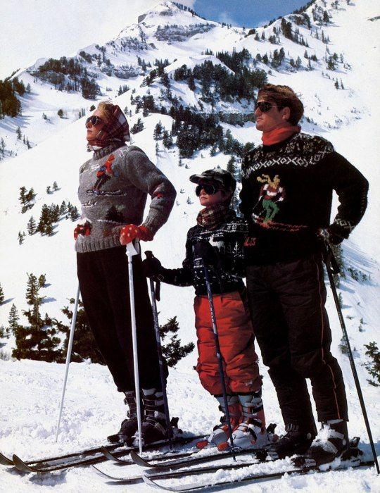 I wanted one of these sweaters in 1983. Photos: Ralph Lauren Ads in Vanity Fair | Vanity Fair