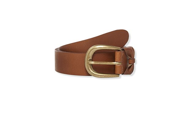 "Jeans Belt. ""Tan and denim is a winning combination, pair this belt with your favourite jeans."""