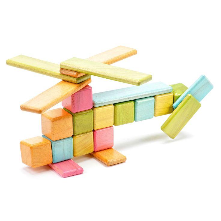 Wooden Magnetic Blocks / Tegu Tints Set by Chris & Will Haughey: Magnets Wooden, Tegu Blocks, Tegu Tinted, Gifts Ideas, Building Blocks, Wooden Blocks, Magnets Inside, Magnets Blocks, Originals Sets