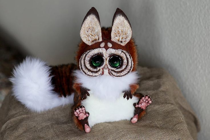 Santani, a 23-year-old girl from Moscow, Russia, creates these ultra-realistic fantasy animal dolls. The creatures are a mix of creepy, cute and amazing.