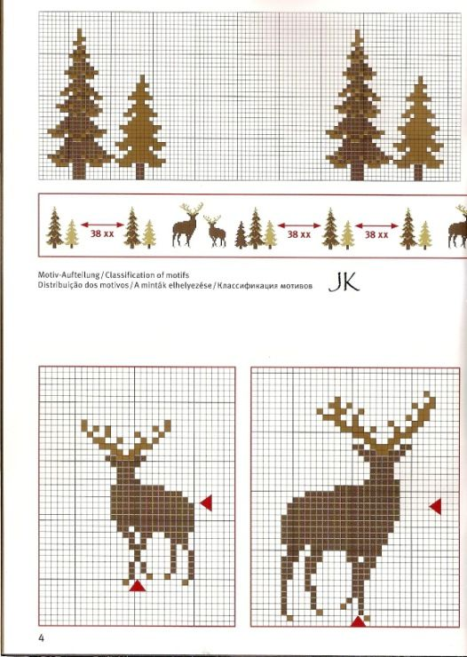 331 best images about Christmas cross stitch on Pinterest Kerst, Snowflakes...