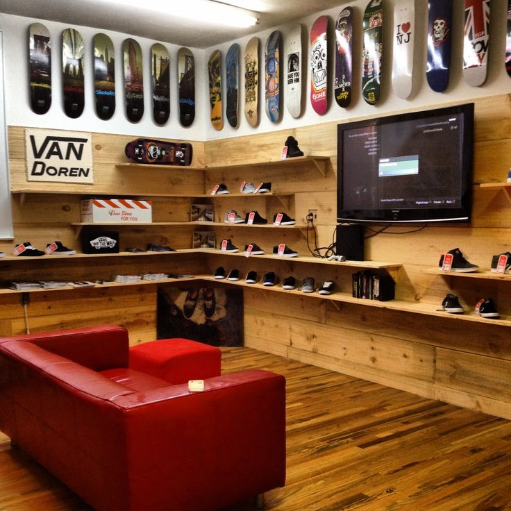 Introducing Underground Skateshop sneaker room. Nutley , NJ