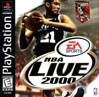 NBA Live 2000 - PS1 Game