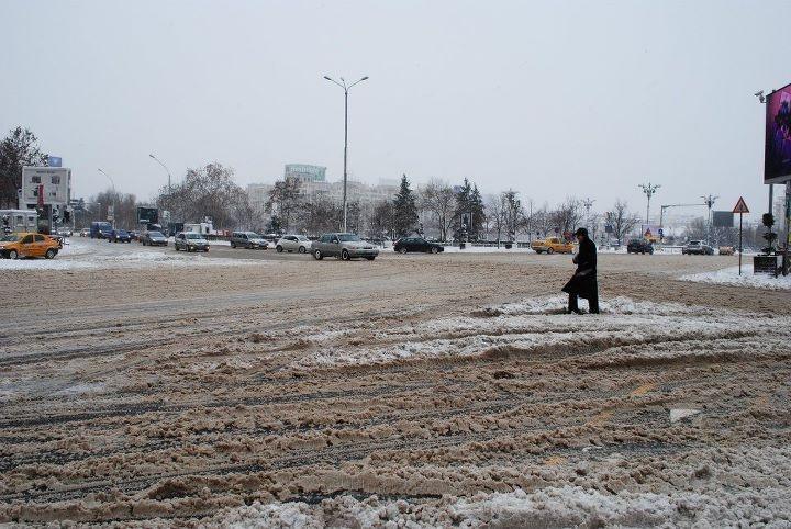 Winter over Bucharest