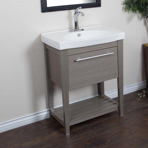 "Found it at AllModern - 28"" Single Sink Vanity Set"