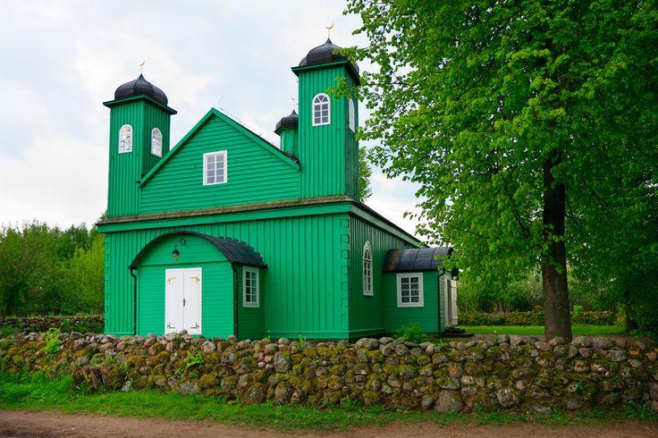 Muslim Mosque in Kruszyniany / entrance for women, XVII century. Poland