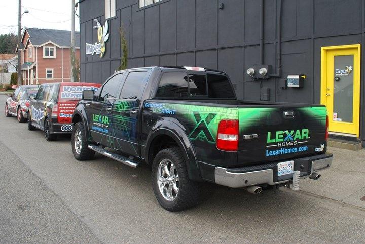 Lexar Homes Ford F 150 Truck Wrap Truck Wraps