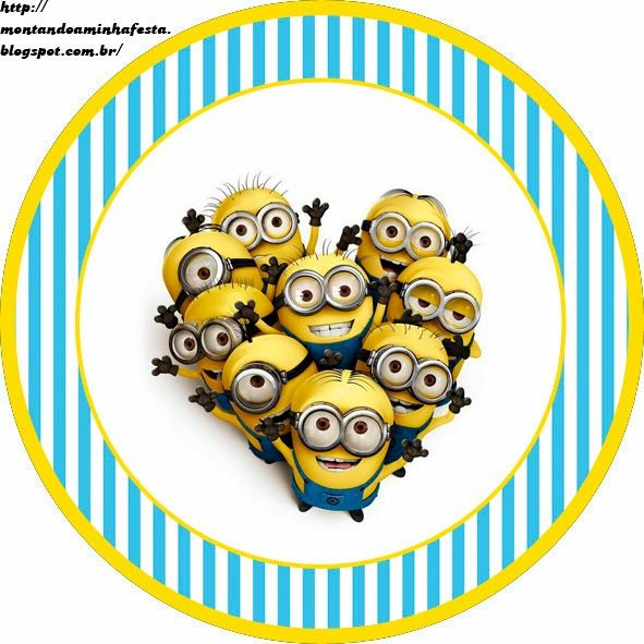 Despicable Me Free Printable Candy Bar Labels. | Oh My Fiesta! in english