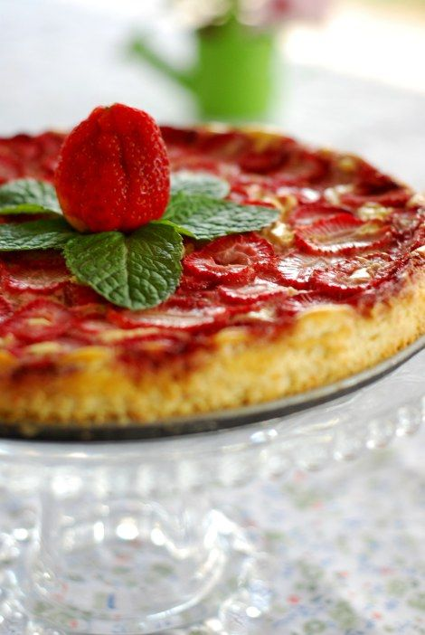 Torta de ricotta sem carboidratos e acucar
