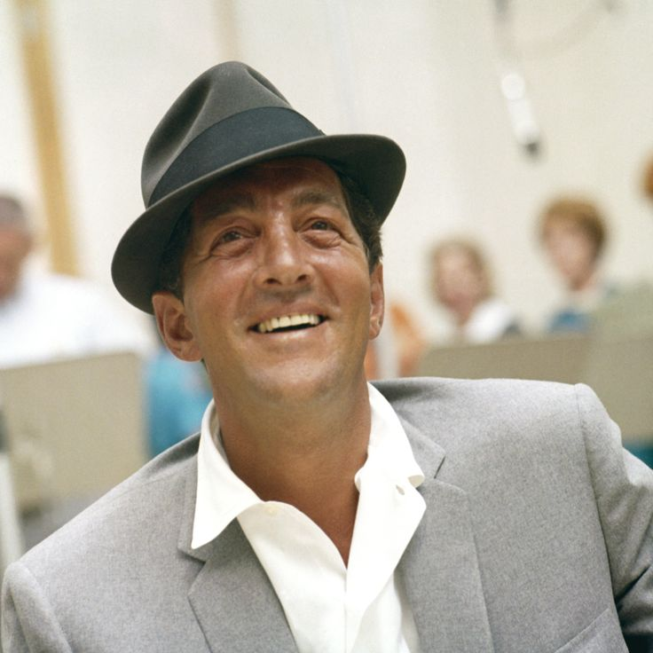 "Dean Martin - beautiful voice. Loved the ""Rat Pack"" .."