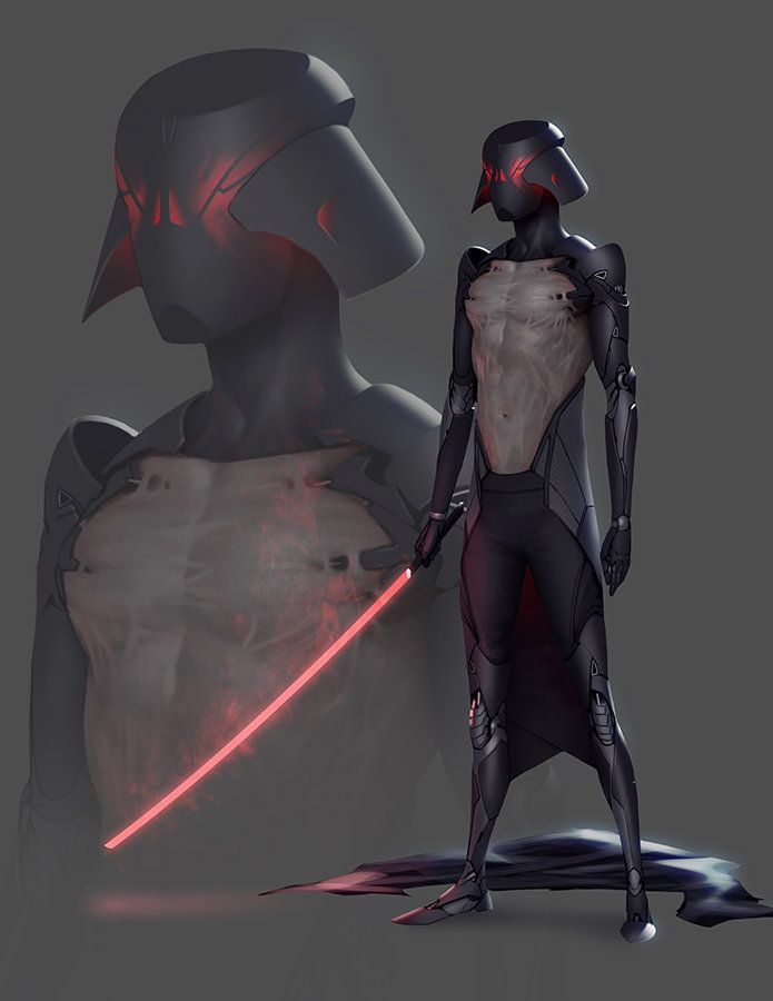 radically-different-darth-vader-fan-made ~ like the helmet , the 'bike suit' I'm Not crazy about