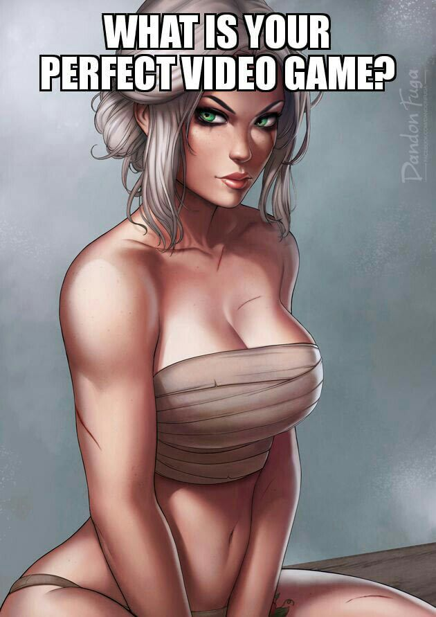 Witcher 4 but every time Gary grunts you get to play as Ciri in her bathhouse wraps