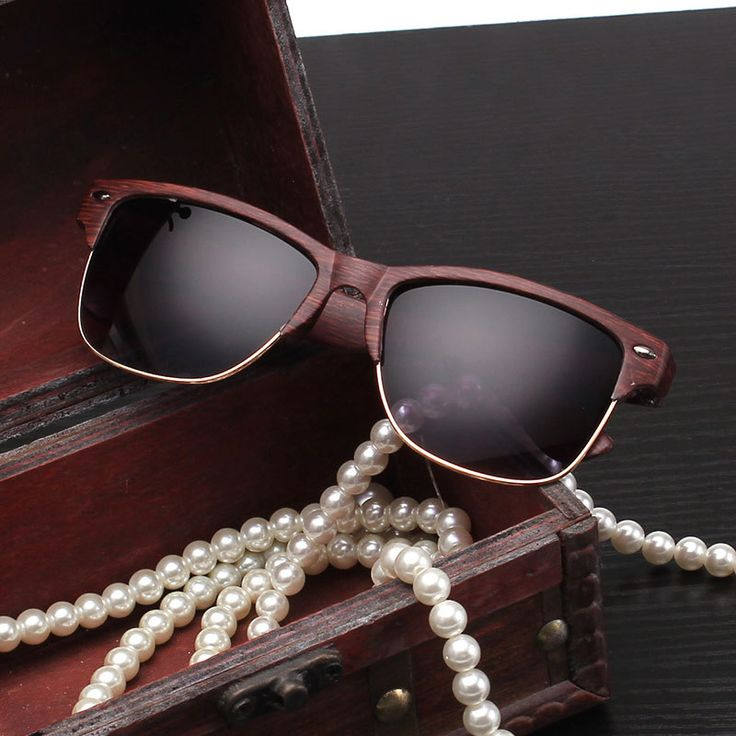 Wooden Sunglasses //Price: $7.99 & FREE Shipping //     #diy