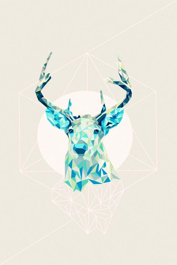 Triangle Animal on Behance